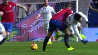 Tremendas imágenes las que se pudieron ver en el Osasuna-Real Madrid, después de un choque entre Tano e Isco que dejó al jugador local con una fractura...