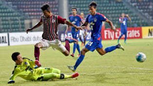 ​Mohun Bagan defeated Bengaluru FC 3-1 in their AFC Cup encounter at the Rabindra Sarobas stadium to put the Blues in the position of having to win their last...