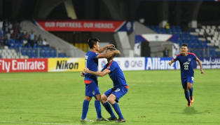​Bengaluru FC have progressed to the knockout stages of the AFC Cup after topping group E, thanks to their 1-0 win over Maziya R&C courtesy Sunil...