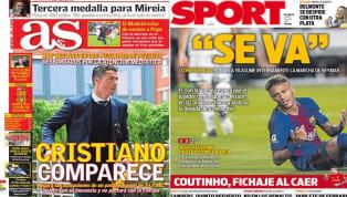 El diario Marca dedica su portada de hoy a Mireia Belmonte. La nadadora española sumó este domingo su segunda medalla de plata en el mundial, la tercera en...