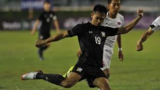 นาทีที่ 27 ศศลักษณ์ ได้บอลที่กราบซ้าย ก่อนจะวางเข้าไปในกรอบเขตโทษให้กับ มนตรี ได้ทิ้งตัวโหม่งเข้าไป ให้ ทีมชาติไทย นำ ฟิลิปปินส์ 1-0 