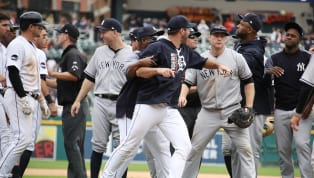 We knew they were coming, and here they are. The MLB has handed out the initial sanctions for the massive Tigers-Yankees brawl on Wednesday, and there...