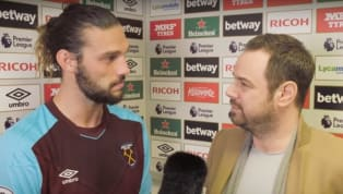 West Ham United striker Andy Carroll was involved in a post-match interview with a difference this week following the club's first Premier League win of the...
