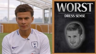 st' Game Tottenham star Dele Alli has named and shamed 'bromance' pal Eric Dier as having the worst haircut and worst dress sense in the squad, while he also...