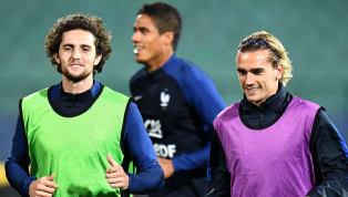 France La composition de nos Bleus pour affronter la Bulgarie ! #BULFRA #FiersdetreBleus pic.twitter.com/WmNhv4I2mS — Equipe de France (@equipedefrance) 7...