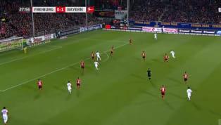 Le Bayern Munich se déplace sur le terrain de Fribourg ce dimanche en Bundesliga. Les munichois mènent 2-0 grâce notamment à un but exceptionnel du milieu...