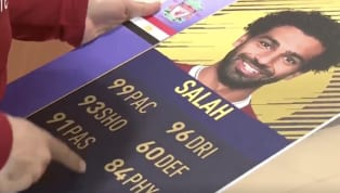 Mohamed Salah Jokes About His Latest FIFA Ultimate Team Card Rating