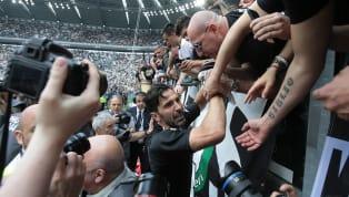 Juventus-Verona 2-1: reti di Rugani e Pjanic. Grande commozione per l'addio di Buffon