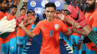 ​India fought off a determined Kenya to seal a 3-0 win in a match that was affected by rain as both teams had to battle the conditions. Captain Sunil Chhetri...