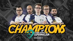​Team Liquid is the China Dota Supermajor champion, as it took a close 3-2 victory over Virtus.pro in the grand final. Here are the #winners of China #dota2...