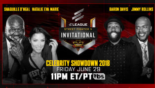 The Street Fighter V Invitational 2018 Celebrity Showdown, featuring Shaquille O'Neal, Natalie Eva Marie, Baron Davis and Jimmy Rollins, will take place...