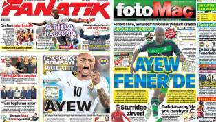 Fenerbahçe'nin Andre Ayew, Beşiktaş'ın ise Umut Nayir hamlesi ağırlıklı olarak günün haberlerinde yer buldu. Perşembe gününün öne çıkan haber başlıkları şu...