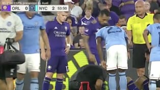 During Thursday night's game between Orlando City and NYCFC, there was an injury stoppage around 53 minutes into the game, which gave some Orlando City fans...