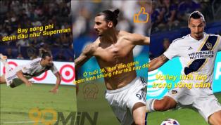 Lại là Zlatan Ibrahimovic và lại là một màn 'gánh team' không tưởng với một cú hat-trick giúp LA Galaxy hạ Orlando 4-3 đầy kịch tính trong trận cầu hôm nay...