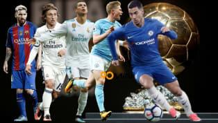 Tạp chí danh tiếng của Đức SportBild mới đây đã công bố kết quả bình chọn Quả Bóng Vàng Ballon d'Or, và bất ngờ khi cả Lionel Messi và Kevin de Bruyne đều...