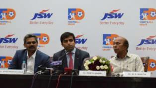 नई दिल्ली के कंस्टीट्यूशनक्लब में दिल्ली फुटबॉल और JSW स्पोर्ट्स ने बुधवार शाम पार्टनरशिप की घोषणा की जिसका लक्ष्यभारतीय राजधानी में फुटबॉल का डेवलपमेंट...