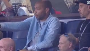 El ex futbolista francés,Thierry Henry, quien en 2010 militó con losNew York Red Bullsen laMLS, regresó a territorio estadounidense para apoyar a su...