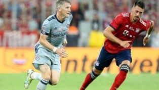 El mediocampista alemánBastian Schweinsteigerse retiró este martes del club que lo vio nacer,Bayern Múnich, en un duelo frente a su actual equipo...