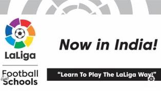 स्पैनिश फुटबॉल लीग ला लीगा ने इंडिया ऑन ट्रैक (IOT) नाम की संस्था के साथ मिलकरभारत में एक ग्रासरूट फुटबॉल डेवलपमेंट प्रोग्राम, ला लीगा फुटबॉल स्कूल्स लॉन्च...