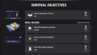  Playerunknow's Battleground với bản update #21 đã cho ra mắtSurvival Objectives. Đây là sự kiện làm nhiệm vụ nhận thưởngthu hút rất nhiều...