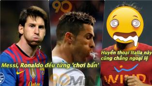 'Phun châu nhả ngọc' hay nói một cách trắng ra là phun nước miếng vào đối phương vốn chẳng hiếm trên sân cỏ, ngay cả Lionel Messi hay Cristiano Ronaldo đều ít...
