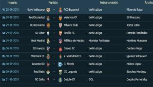 Todavía no ha terminado la sexta jornada de LaLiga Santander y ya hay clubes que miran hacia su próximo partido. El fin de semana llega con la jornada número...