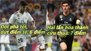 Real Madrid bỏ lỡ cơ hội đoạt ngôi đầu của La Liga khi bị Atletico Madrid cầm hòa trong trận derby nghẹt thở khuya 29/9 mà hai thủ thành thay nhau 'gánh...