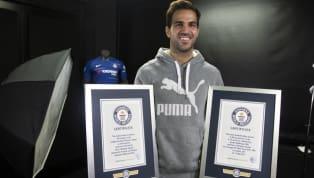 El jugador español del Chelsea, Cesc Fábregas, acaba de entrar en el libroGuinness de los récordsdespués de conseguir ser el jugador más rápido en alcanzar...
