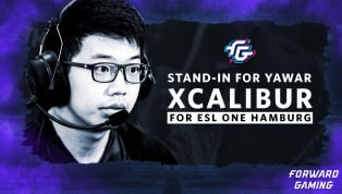 """Forward Gaming will attend ESL One Hamburg with a stand-in. Steve """"Excalibur"""" Ye will be playing in place of the team's normal mid laner, Yawar """"YawaR""""..."""