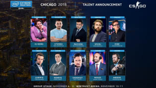 IEM Chicago organizers revealed the broadcast talent that will be a part of the Counter-Strike: Global Offensive tournament beginning Nov. 6. Just like our...