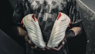 adidas Launch New Copa 19+ Boots in Champagne & Red Worn by Paulo Dybala