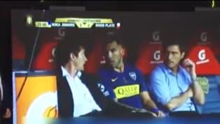¿Qué dijeron? El diálogo entre Guillermo y Tévez antes de que el delantero ingrese a la cancha