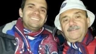 La emocionante despedida de un hincha de San Lorenzo a su padre que se volvió viral en las redes