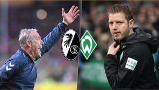 SC Freiburg - Werder Bremen   Die offiziellen Aufstellungen