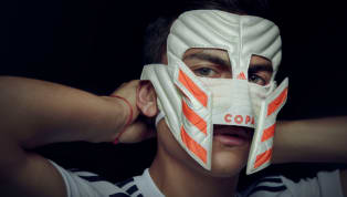adidas Reveal New Mask Made From Copa 19 Boots to Honour Paulo Dybala's Iconic Gladiator Celebration