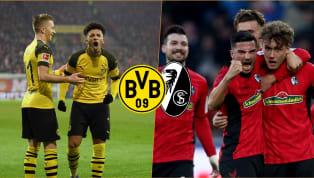 BVB - SC Freiburg   Die offiziellen Aufstellungen