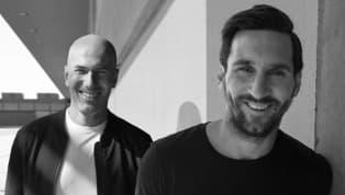 Zinedine Zidane yMessi. Probablemente el mejor jugador de la primera década del nuevo milenio y el mejor de la segunda. Además, el francés también entraría...