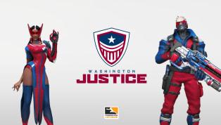 Washington Justice Reveal Brand for Overwatch League Season 2