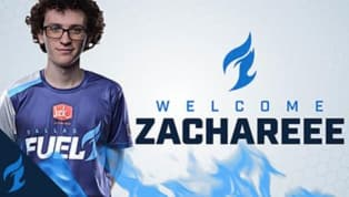 ZachaREEE Joins Dallas Fuel for Overwatch League Season 2