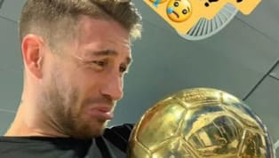 "Sergio Ramos Posts Photo With Luka Modric's Ballon d'Or Captioning it as ""Where's Mine?"""