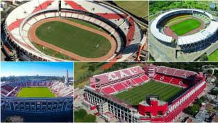 """El estadio más grande de la Argentina lleva el nombre del presidente que impulsó su construcción, Antonio Vespucio Liberti, aunque se lo conoce como """"El..."""