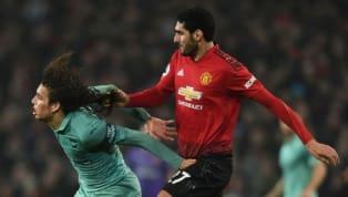 Social Media Goes Insane as Marouane Fellaini Pulls Matteo Guendouzi's Hair in Old Trafford Clash