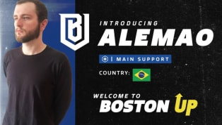 Alemao Overwatch: Get to Know the New Boston Uprising Player
