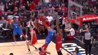 VIDEO: Wendell Carter Stuffs Russell Westbrook Trying to Go for a Monster Jam