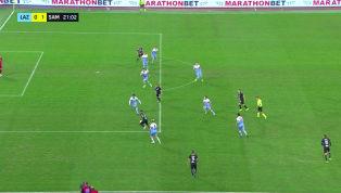 VIDEO | Lazio 0-1 Sampdoria: ecco il gol del solito Quagliarella per il vantaggio blucerchiato