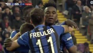 VIDEO   Udinese 1-2 Atalanta: ecco la seconda rete di Zapata per il raddoppio bergamasco