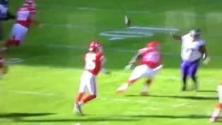 VIDEO: Patrick Mahomes Throws Perfect No-Look Pass