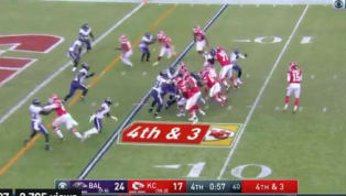 VIDEO: Ravens Blow Two Fourth and Longs and Allow Chiefs to Tie Game