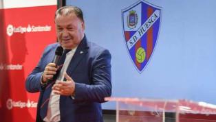 El 'zasca' del presidente del Huesca a Solari tras sus declaraciones en rueda de prensa