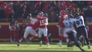 VIDEO: New Angle of Patrick Mahomes' No-Look Throw is Mind-Blowing